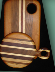 Cutting boards by Joseph Spaziano (RI)